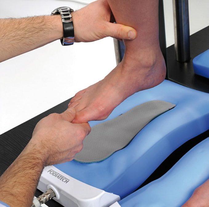 Szkolenie poświęcone projektowaniu i wykonywaniu termoformowalnych wkładek ortopedycznych Sidas Podiatech.
