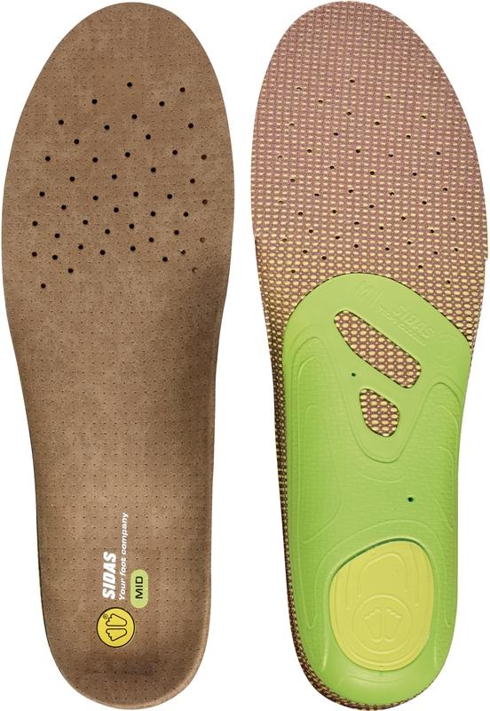 wkładki do butów sidas 3feet outdoor mid