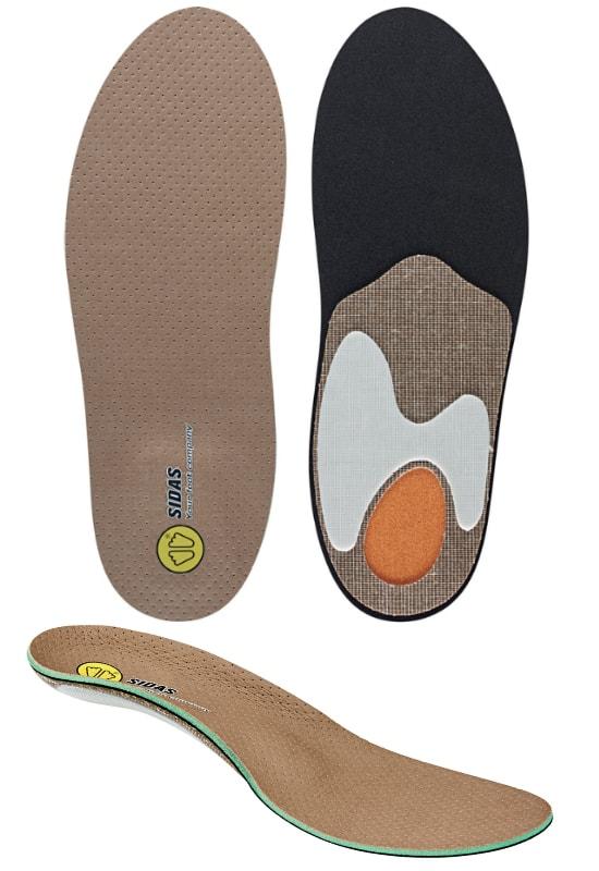 wkładki do butów sidas custom outdoor