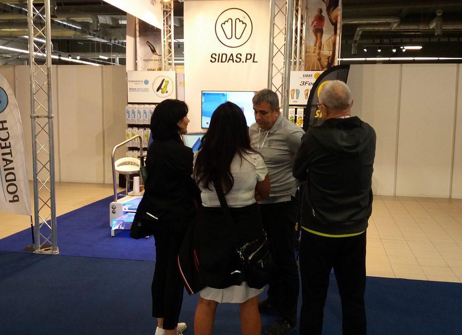 Sidas Sport i Sidas Medical Podiatech na targach Go Active Show