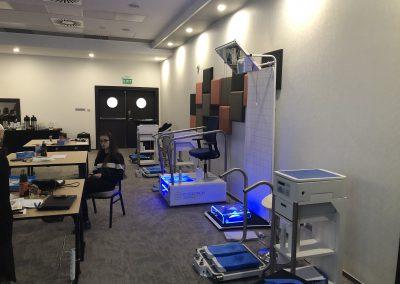 szkolenie poświęcone wykonywaniu termoformowalnych wkładek ortopedycznych Sidas Podiatech (8)-min