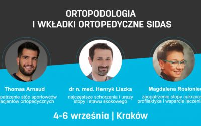 Szkolenie SIDAS – ortopodologia i wkładki ortopedyczne